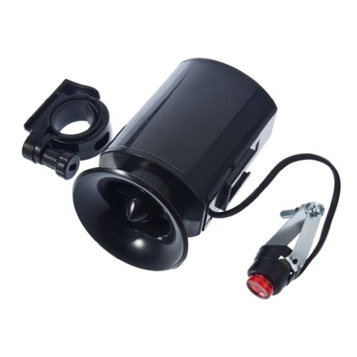 UPC 613827370005, MECO(TM) Electronic Bicycle Bike Ultra-loud Bell 6 Sounds Horn Alarm Speaker