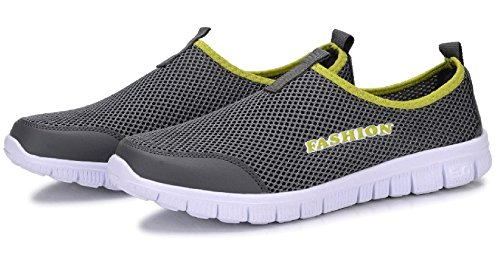 Light Air Comfortable Jacky's Weight mesh Summer Grey Casual Fashion Men's Shoes Shoes Breathable P1TOfW