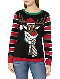 Women's Assorted Pullover Xmas Sweaters-Juniors