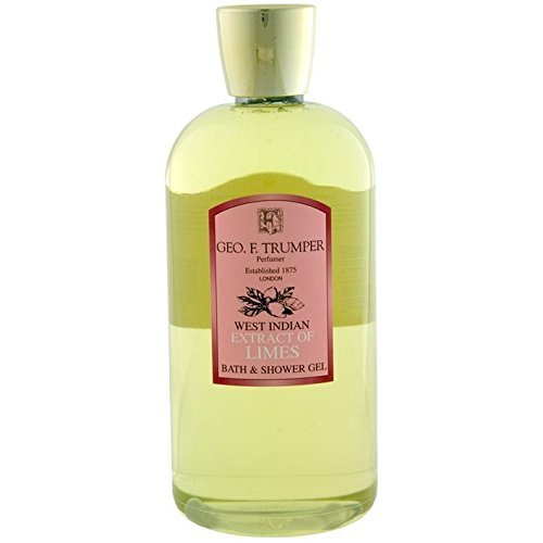 (Geo F Trumper Extract of Limes Bath & Shower Gel Large 500ml Bottle with Pump Dispenser by Geo F. Trumper)