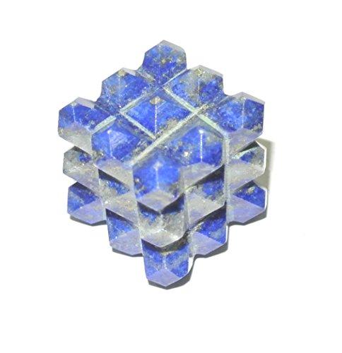 crystalshopindia Lapis Lazuli 54 Lemurian Pyramid Power ()