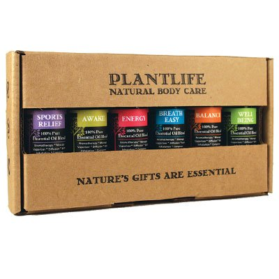 Be Well Essential Oil Gift Set - 6 Essential Oil Blends For Wellness