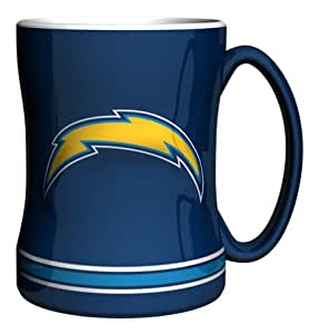 Nfl San Diego Chargers Boxed Relief Sculpted Mug Fan Shop