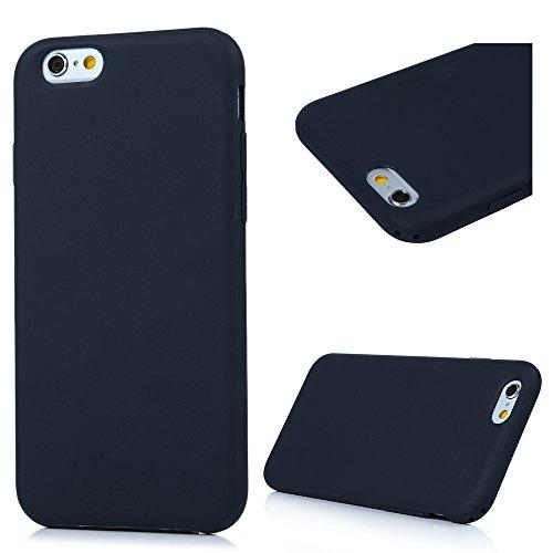 Badalink iphone 6S 6 Hülle TPU Silikon Case Handyhülle Schutzhülle Durchsichtig Case Backcover Bumper Slimcase Handy Cover Schutzhülle