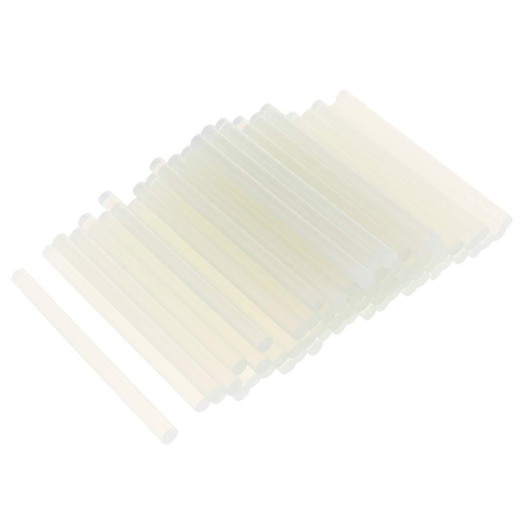 perfk Mini Bâtons de Colle Chaude Clair Écologique Durable - 11mm