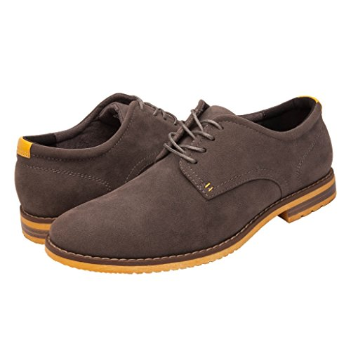 GlobalWin+-+2+Mens+Casual+Oxford+Shoes+9M%2C+GREY