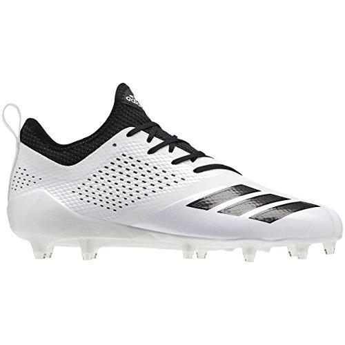 sale original 2015 new adidas Adizero 5Star 7.0 Cleat Men's Football White-black PBFC0oNic