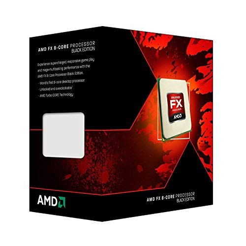 AMD Black Edition FX-8300 Vishera 8-Core Socket AM3-Plus 95W FD8300WMHKBOX Desktop Processor