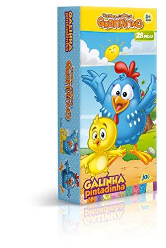 Quebra Cabeça 28 Peças Grandinho Galinha Pintadinha Toyster Brinquedos