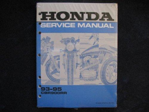 Honda 1993-1995 CBR900RR CBR 900 RR New Factory Shop Manual ()