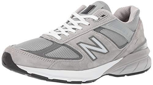 (New Balance Men's 990v5 Sneaker, Grey/Castlerock, 13 XN US)