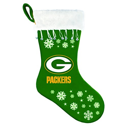 Boelter Brands NFL Green Bay Packers Snowflake Stocking