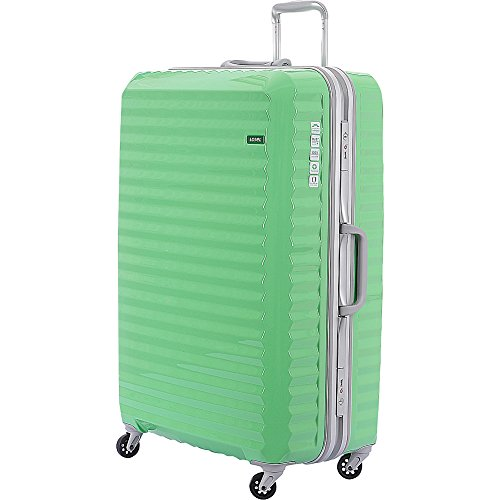 lojel-groove-frame-large-luggage-lime-green