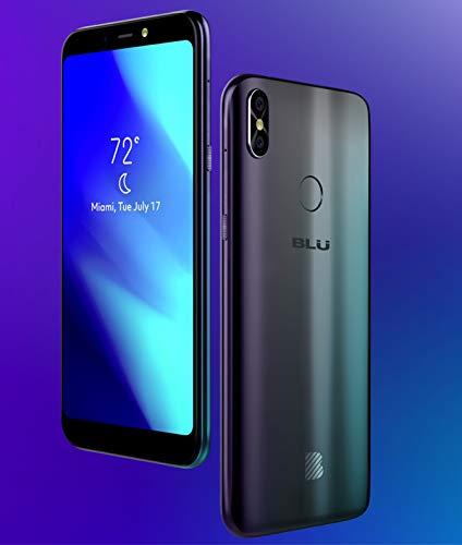 Blu Studio Mega 2018 Unlocked Cell Phone Android V.8.1 Oreo(Go Edition) 6.0'' Display 16GB(Black)