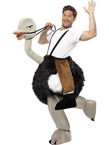 [Ostrich Rider Adult Costume] (Halloween Ostrich Rider Costume)