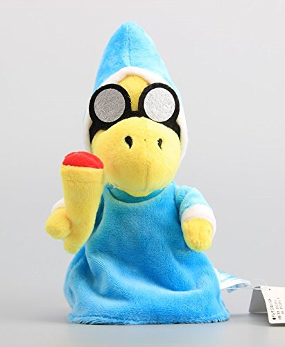 Super Mario Magikoopa Kamek 7 Inch Anime Stuffed Plush Kids Toys