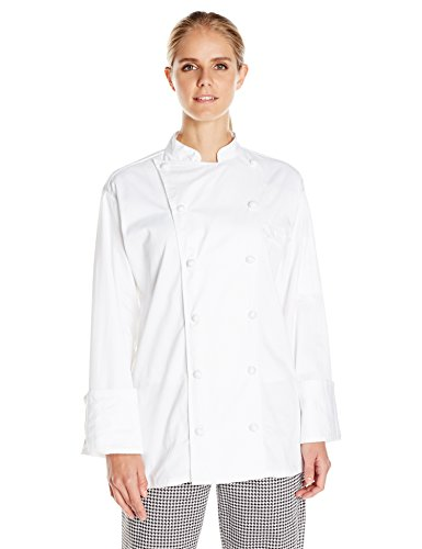 Uncommon Threads Unisex Master Chef Coat, White, Large by Uncommon Threads