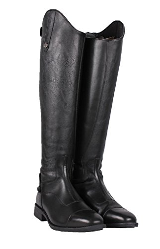 Size 7 QHP Riding Calf Boots Black Regular New Birgit Long UK Black 8apwgd