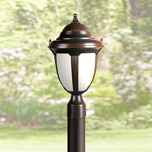 Casa Sorrento Traditional Outdoor Post Light Bronze 20 3/4