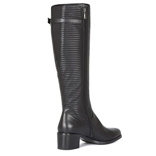 Long Quilted Collection Leather Women's Smooth Tj Boots w1Xpw