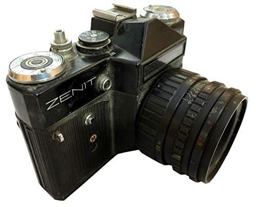 Desconocido Global Art World Old Model 76064090 MC 9205398 44-3 2/58 Lens Vintage Collectible Antique Zenit EM Camera Made in...