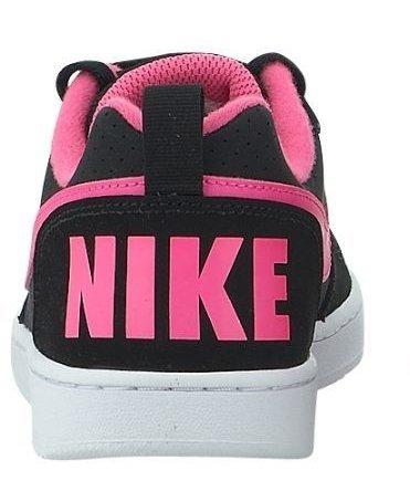Basketball Rose Noir Femme Chaussures Court Nike Explosion de Noir Borough Sport pPqz1T