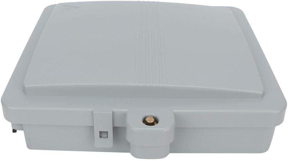 Gancon Caja Terminal de Fibra /óptica IP65 del recinto de distribuci/ón de la Fibra /óptica de 12 Bases FTTH