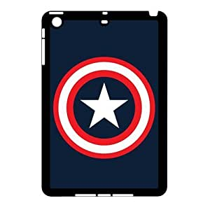 Durable Plastic Shell Cover for Apple iPad Mini 2/iPad Mini Protective custom cases and skins-Captain America American Spirit-1