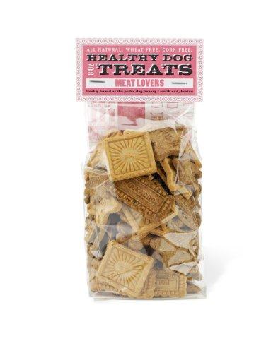 Polka Dog Bakery Meat Lovers Cello Bag, Wheat-Free, Corn-Free, Soy-Free Dog Treats, 8oz, My Pet Supplies