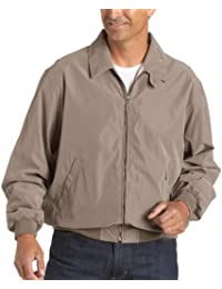 Men's Microfiber Classic Golf Jacket