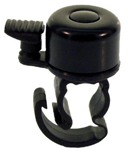Ventura Mini Bicycle Bell with Quick Release (Black) -