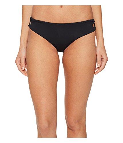 Roxy Women's Softly Love Reversible 70's Lace-Up Bikini Bottom Anthracite - Swimwear 70's Roxy Bottom