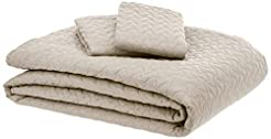 AmazonBasics Oversized Embossed Coverlet...