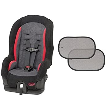 Evenflo Tribute Sport Convertible Car Seat Gunther With 2 Piece Window Cling Shades