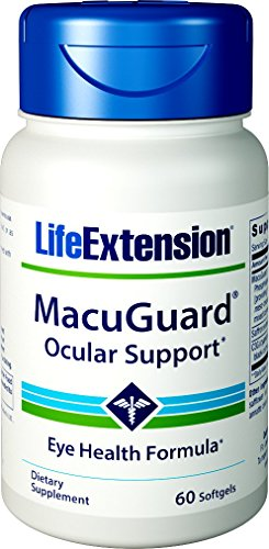 Life Extension MacuGuard Ocular Support with Saffron 60 softgels Review