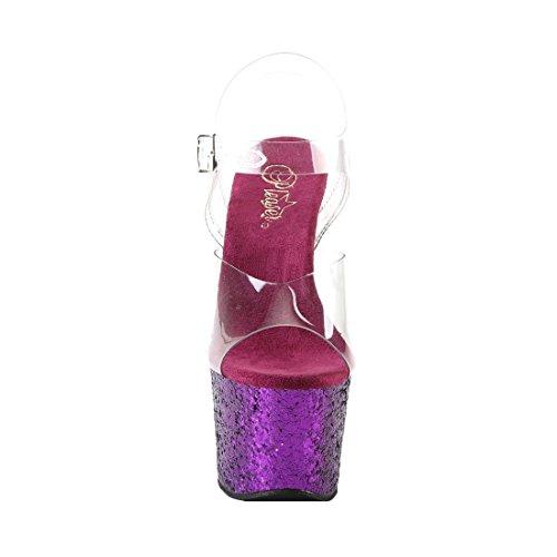 Glitter Purple 801 Pleaser FLAMINGO Donna Sandali Clr Tvyq7Ha