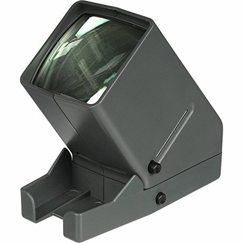 Medalight 35mm Desk Top Portable LED Negative and Slide Viewer + AA Batteries + Microfiber Cleaning Cloth
