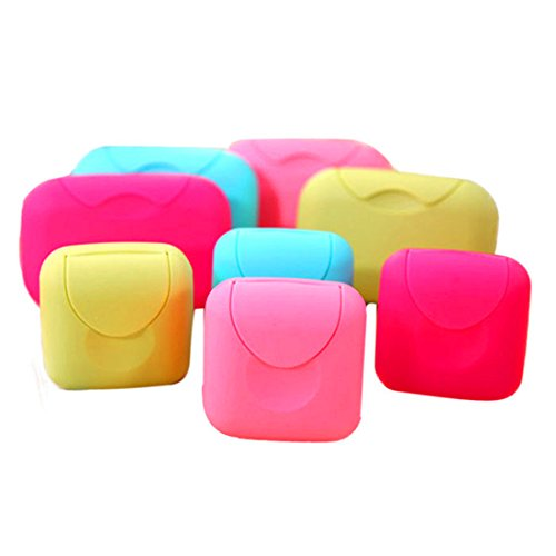 HANYI Home Shower Travel Hiking Holder Container Soap Box (S)