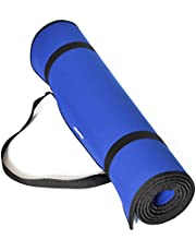 "JmeGe Yoga Mat, Yo01 1/3-Inch Non-Slip Exercise Yoga Mat with Edge Belt and Carrying Strap,size 72""X26"" Thickness"