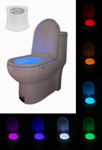 The Original Lightbowl-Fits Any Toilet-8 Colors