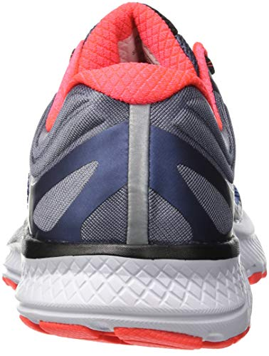 35 Blue Grey Homme Vizi Guide Multicolore Iso Red Chaussures de Running Saucony wSxTOP7q