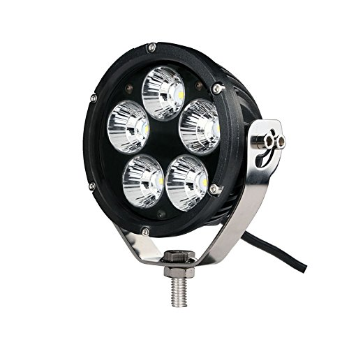 Faro LED de largo alcance /Ø110mm 5 LEDS 12-24V 50W