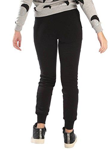 SHOESHINE Pantalón Sudadera Classic Mujer, negro, Small