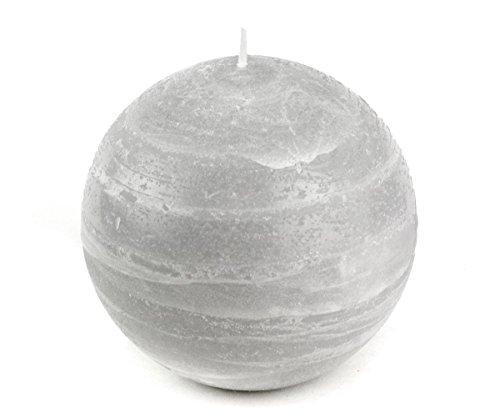 Gray Ball Candle 4
