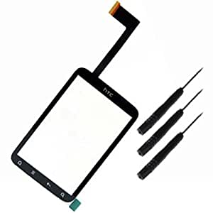 NEW Touch Screen Glass Digitizer Screen for HTC WILDFIRE S G13 (NOT WILDFIRE G8) INCLUDING TOOLS TO DISASSEMBLE THE PHONE ** REPLACE YOUR FAULTY/DAMAGED/BROKEN TOP TOUCH SCREEN** by TECHGEAR