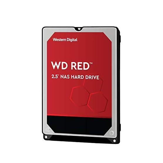 """WD Red 1TB NAS Internal Hard Drive - 5400 RPM Class, SATA 6 Gb/s, CMR, 16 MB Cache, 2.5"""" - WD10JFCX 415yXt NPDL. SS555"""
