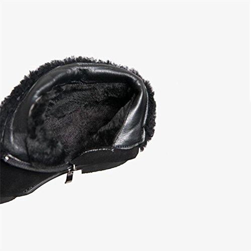 Donna Donna CHENGREN Freddo Freddo Black 41 Inverno da Calde Traspirante Scarpe 39 Stivali Antiscivolo Casual xxFCrE