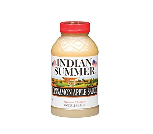 Indian Summer Old Fashioned Cinnamon Applesauce (8 pk., 48 oz.) by Indian Summer