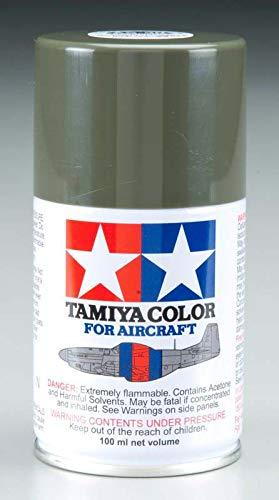 Tamiya America, Inc Aircraft Spray AS-30 Dark Green RAF 100ml, TAM86530 ()