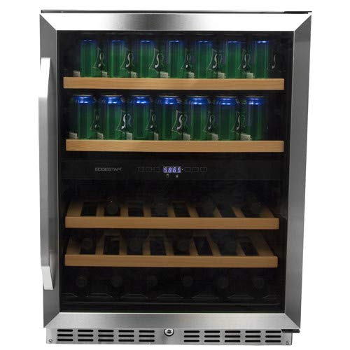 EdgeStar CWB8420DZ 24 Inch Built-In Wine and Beverage -
